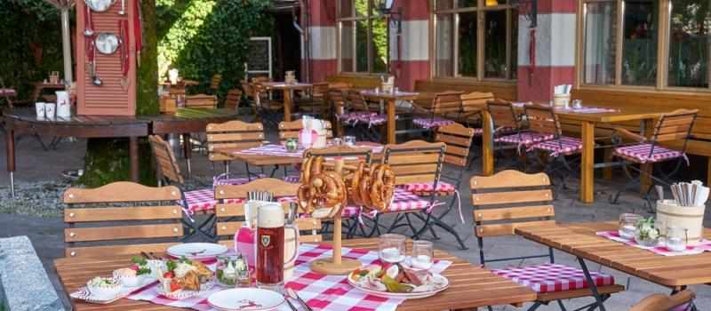 Biergarten im Klosterbraustüberl